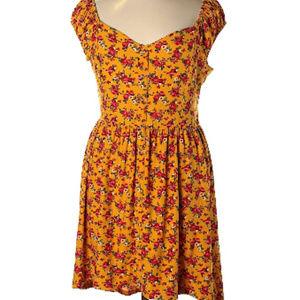 Walmart No Boundaries Floral Hi Lo Dress